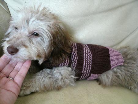 みらくのための手編みセーター 5