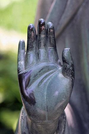 2009.05.25 北鎌倉 東慶寺 金仏の右手