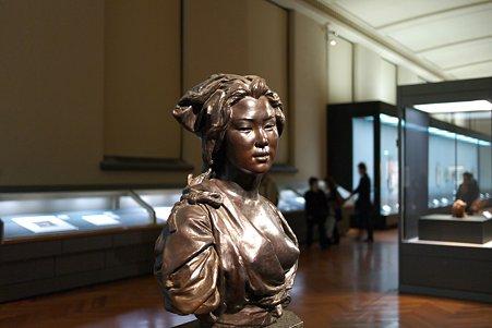 2011.02.06 東京国立博物館 日本の婦人像 ヴィンチェンツォ・ラグーザ