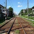写真: 青空電鉄白帆線(夏):2006_0819_fpxF710_DSCF0043
