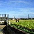 Photos: 水門と秋の空:2007_0916_A640_IMG_1674