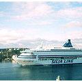 Photos: 【22】タリンク・シリヤライン乗船|すれ違うシリアライン [2005]