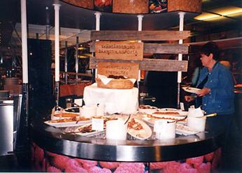 【13】タリンク・シリヤライン乗船 夕食ビュッフェ [2005]