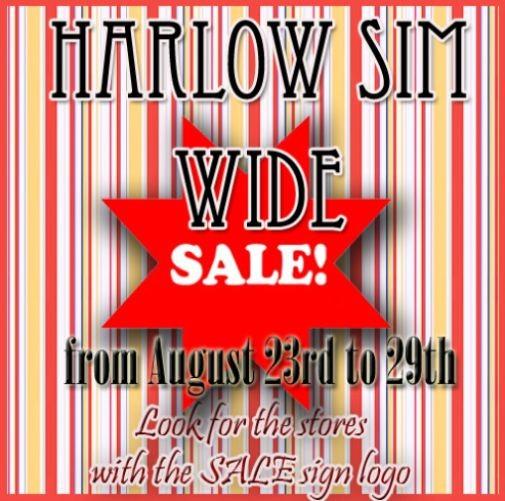 Harlow SIM Wide Sale Board