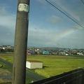 Photos: 台風一過の虹