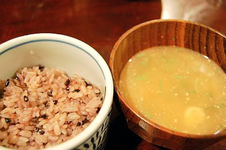 お食事(冷し汁)