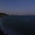 月夜の荒海
