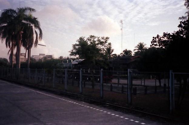 Thailand / タイ、保存されている蒸気機関車