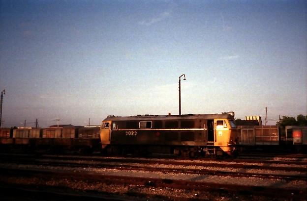 Thailand / タイ、3023号ディーゼル機関車