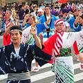 やっさ踊り2009の大慈会三原チーム