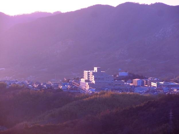 夕陽の中で~新しい街~