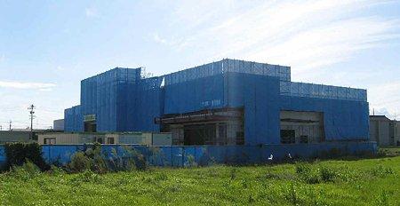 フィールきよす店(仮称) 2009年11月25日 オープン予定で建設中-210920-1