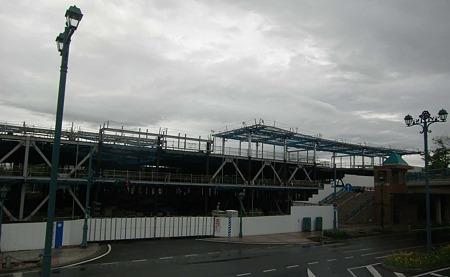 イトーヨーカドー倉敷ショッピングセンター 平成23年11月11日  開業予定で工事中-230522-1
