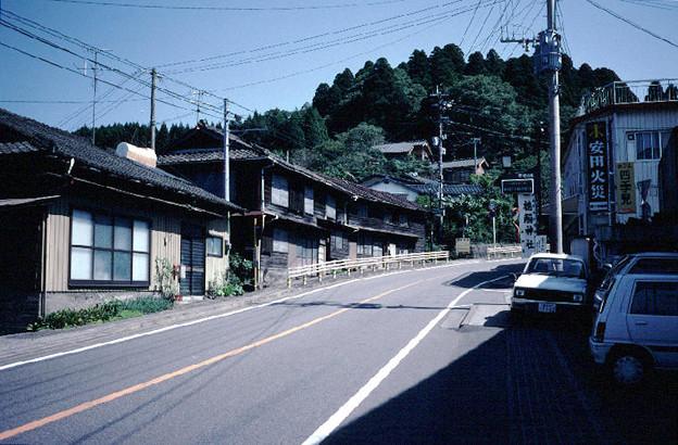 高千穂町の家並み(s111-3)