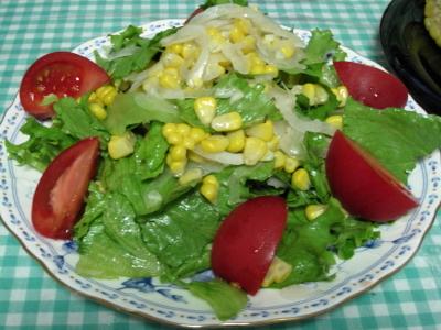 コーンのサラダ