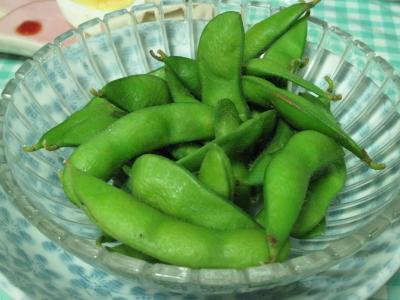 まだまだ枝豆のシーズンは続きます