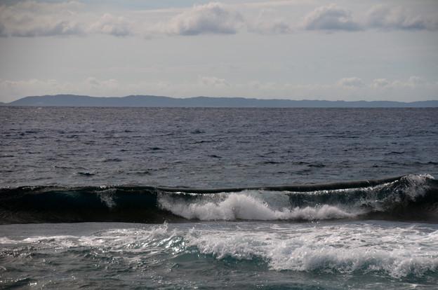 奄美大島を望む