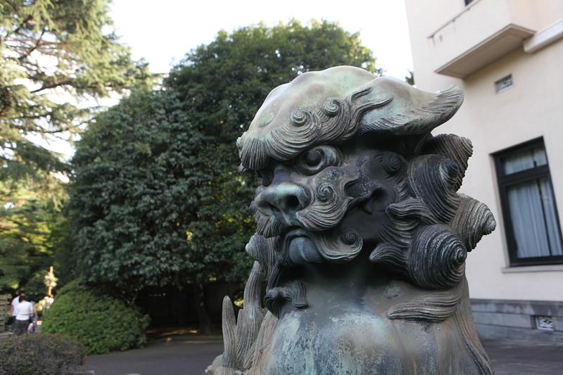 IMG_3056東京都庭園美術館にて