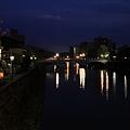 夜の浅野川 大橋?