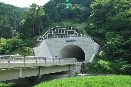 R424新道・宇井苔トンネル