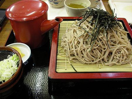 信州蔦木宿・ざる蕎麦
