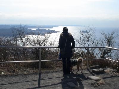 絶景の山頂