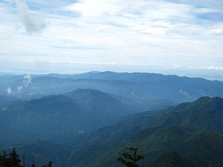 二ノ森山頂からの眺望