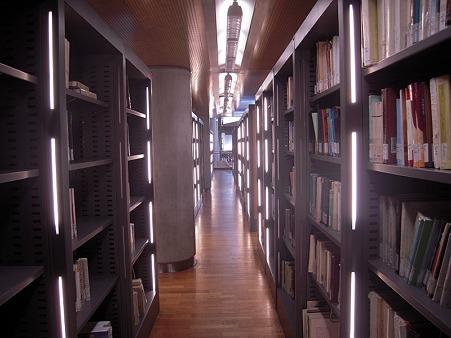 アレキサンドリア図書館 書架