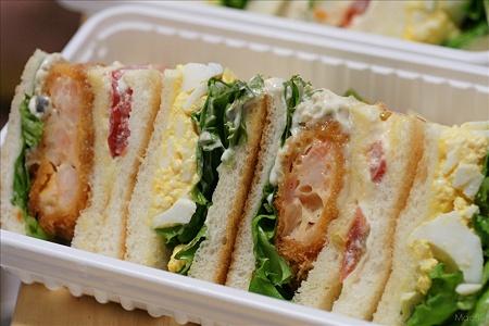 ブロッコのサンドイッチ